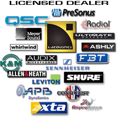 Shaped Music Colorado Audio Amp Lighting Equipment Rental